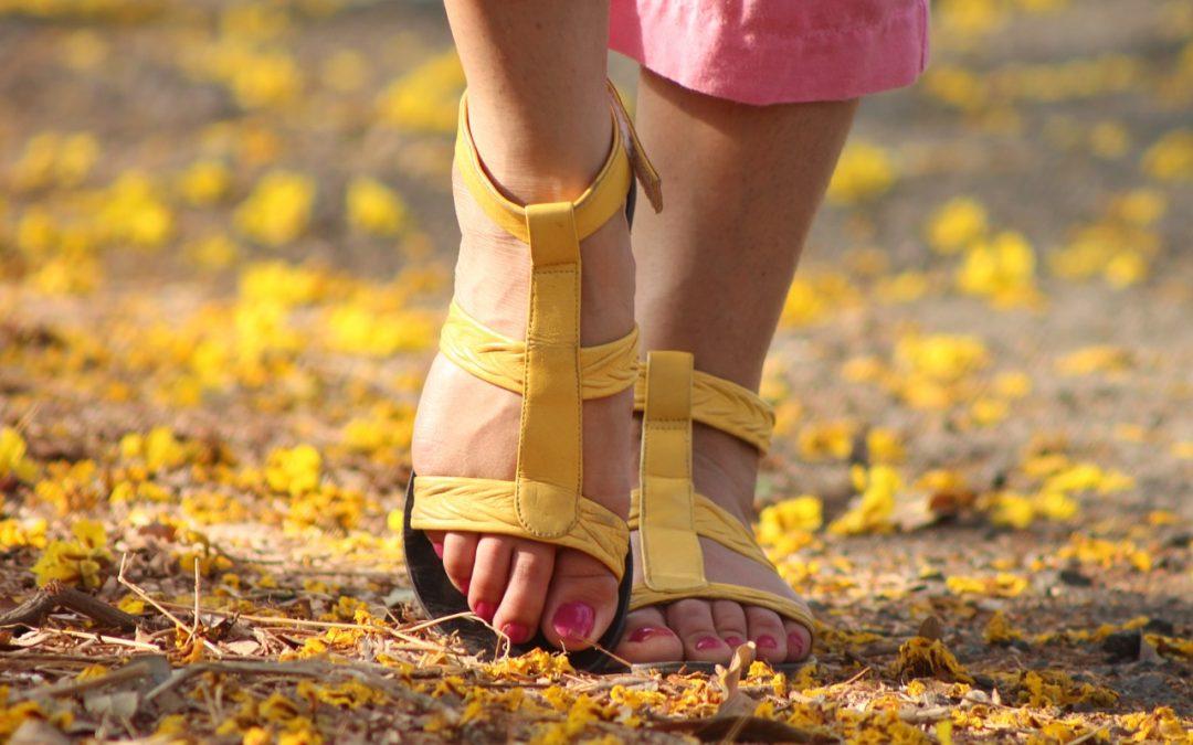 Calzado de piel para la temporada de verano 2019